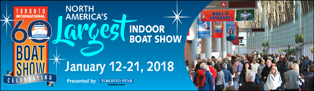 Maplesat Inc. part of The Toronto Boat Show in 2018